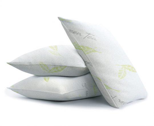 Green-tea-pillow